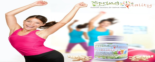 Stay fit with Spring Vitality Probiotics Supplement