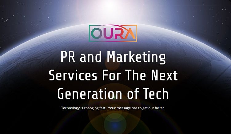 top tech PR firm Oura website