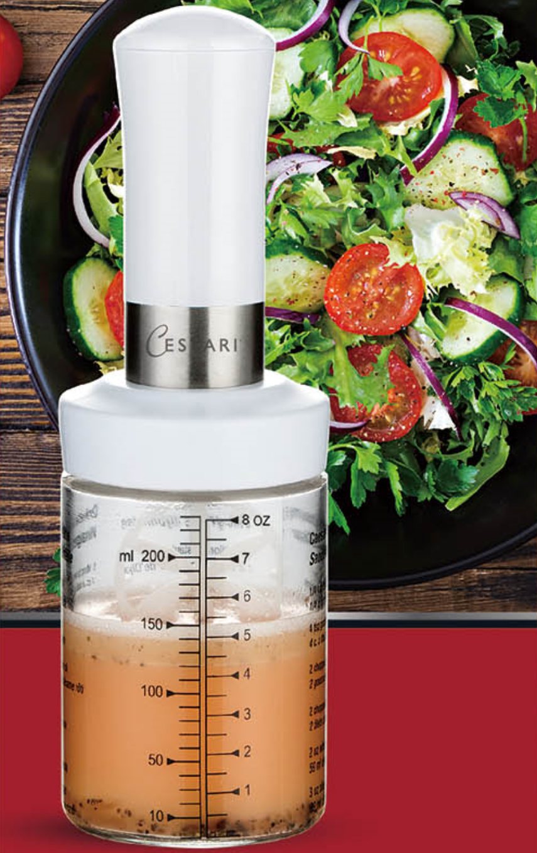 salad dressing shaker bottle