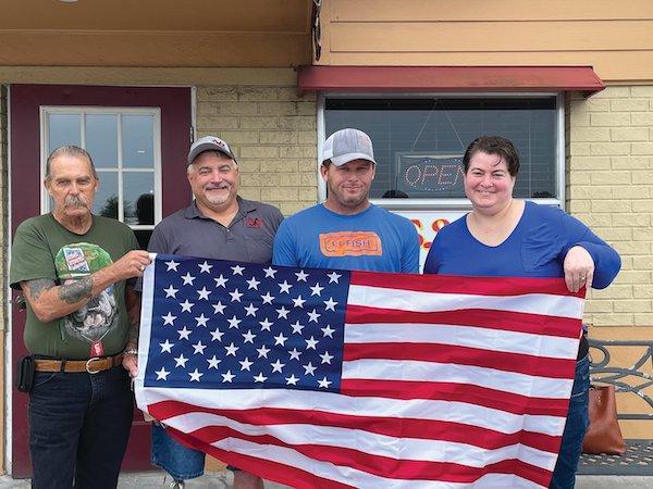 Ultimate Flags honors Local Veterans
