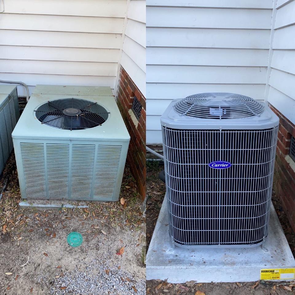 HVAC installation in Pensacola, FL