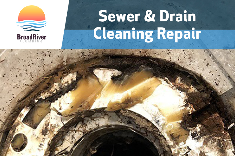 sewer and drain cleaning repair