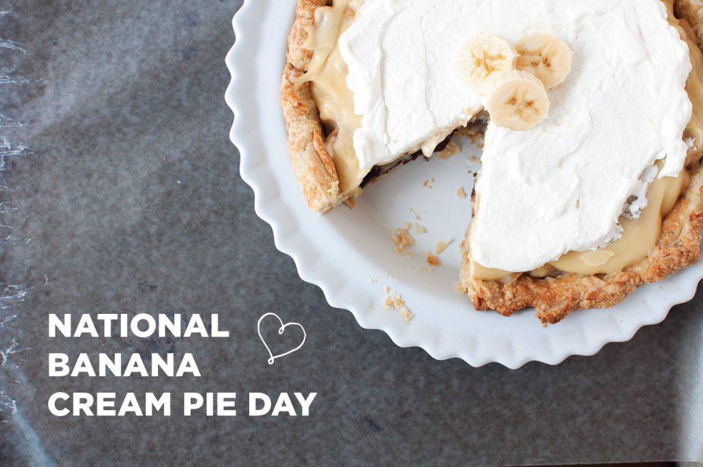 HometownHall.Com - National Banana Cream Pie Day