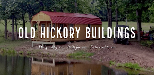 Old Hickory Storage Shed by Waldo Implement