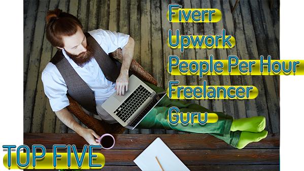 Top Five Freelancing Websites PR