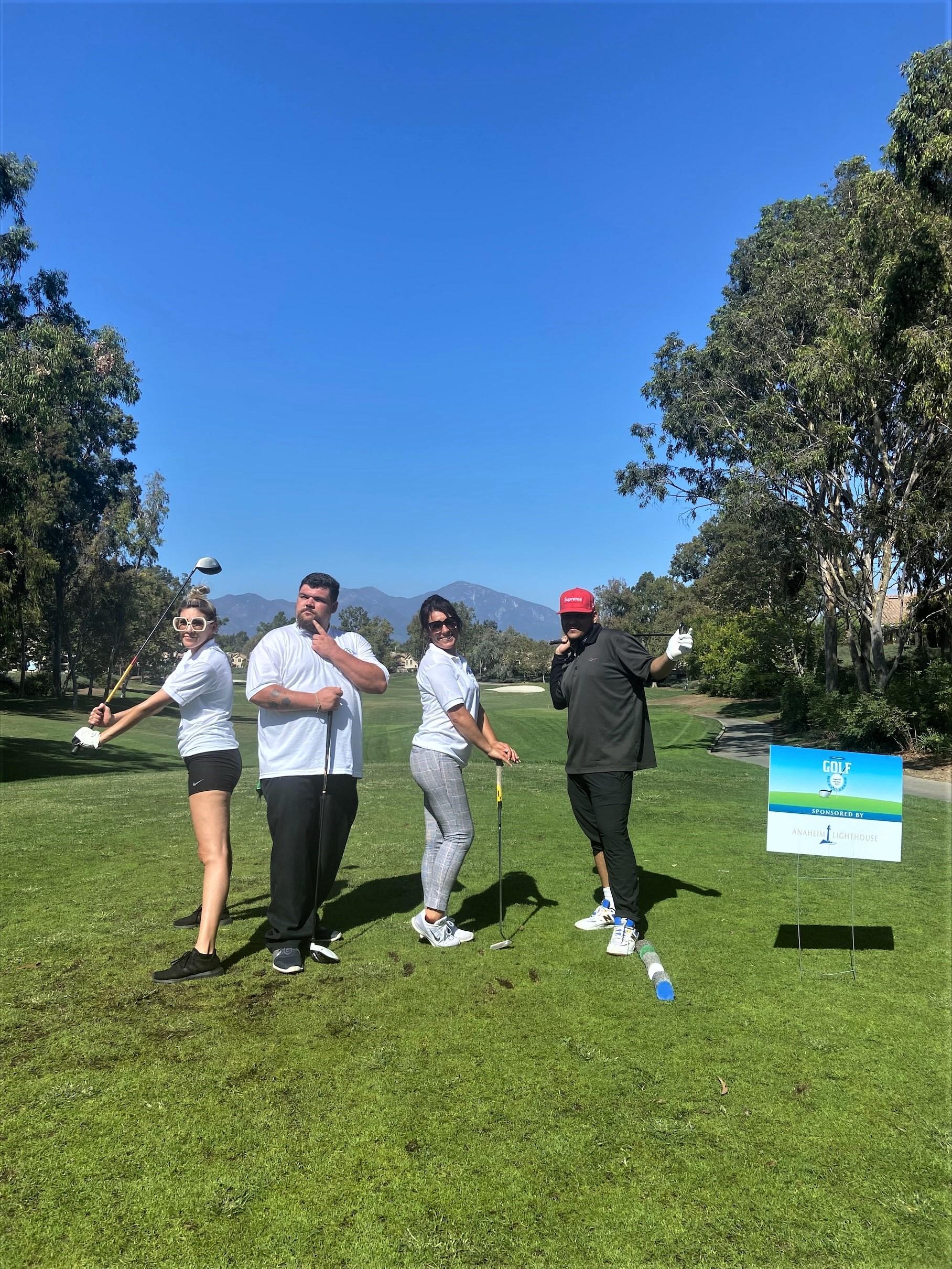 Anaheim Lighthouse Golf Participants