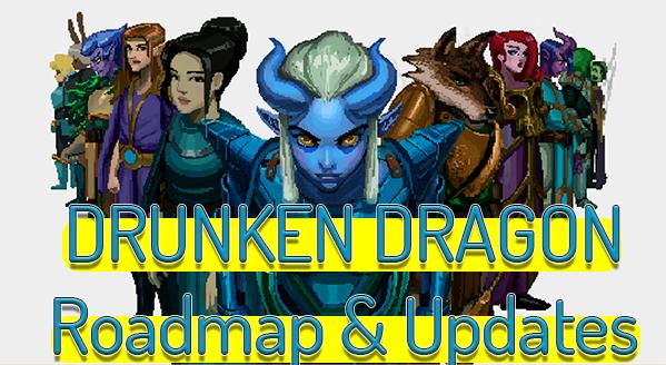 Drunken Dragon NFT Game On Cardano Updated Roadmap And FAQ
