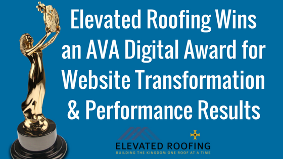 Elevated Roofing Wins Marketing Award