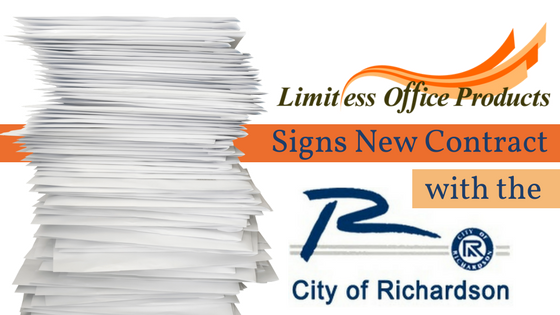Limitless Office Products Signs New Printing Contract with City of Richardson, TX