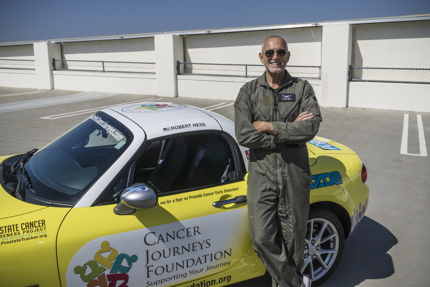 Cancer Journeys Foundation President Robert Hess