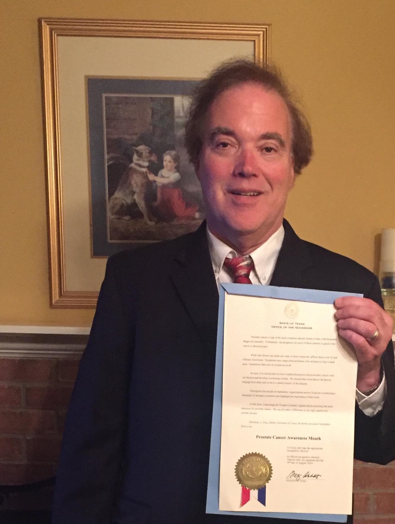 Cancer Journeys Foundation Texas Ambassador Kent Leipold
