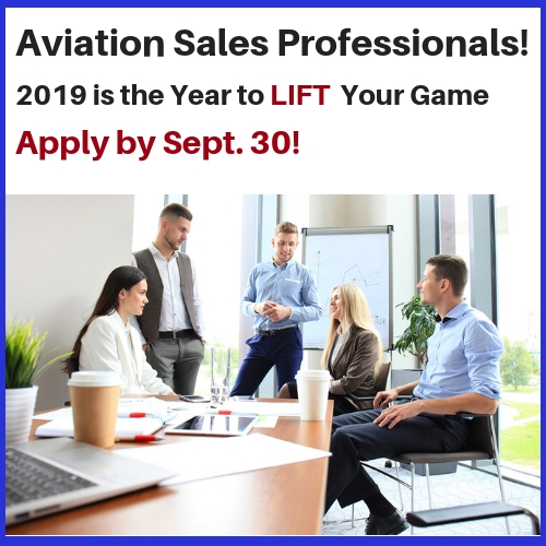 Scholarship for Aviation Sales and Marketing Professionals