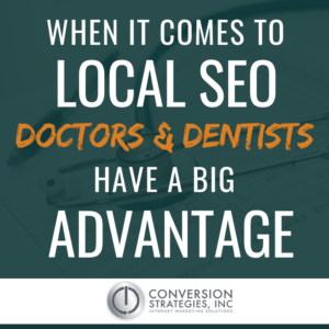 SEO Strategy for Doctors - Conversion Strategies Inc.