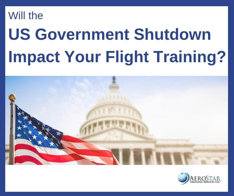 How WIll the US Government Shutdown Impact Flight Training?