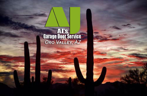 garage door repair Oro Valley by AJ's Garage Door Service