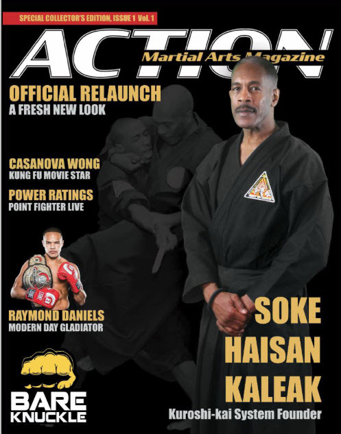 Action Martial Arts Magazine Relaunched