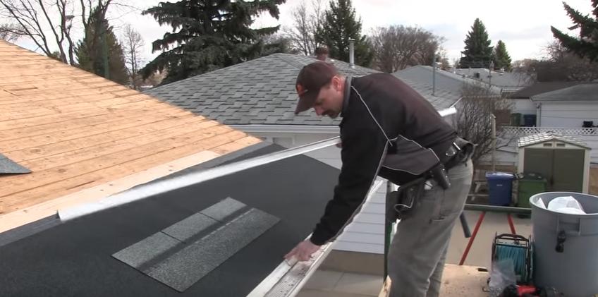 Asphalt Roofing Installation