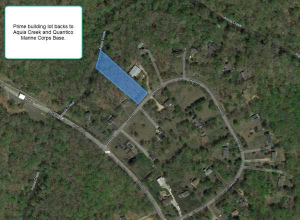 Land for sale in Stafford County Virginia