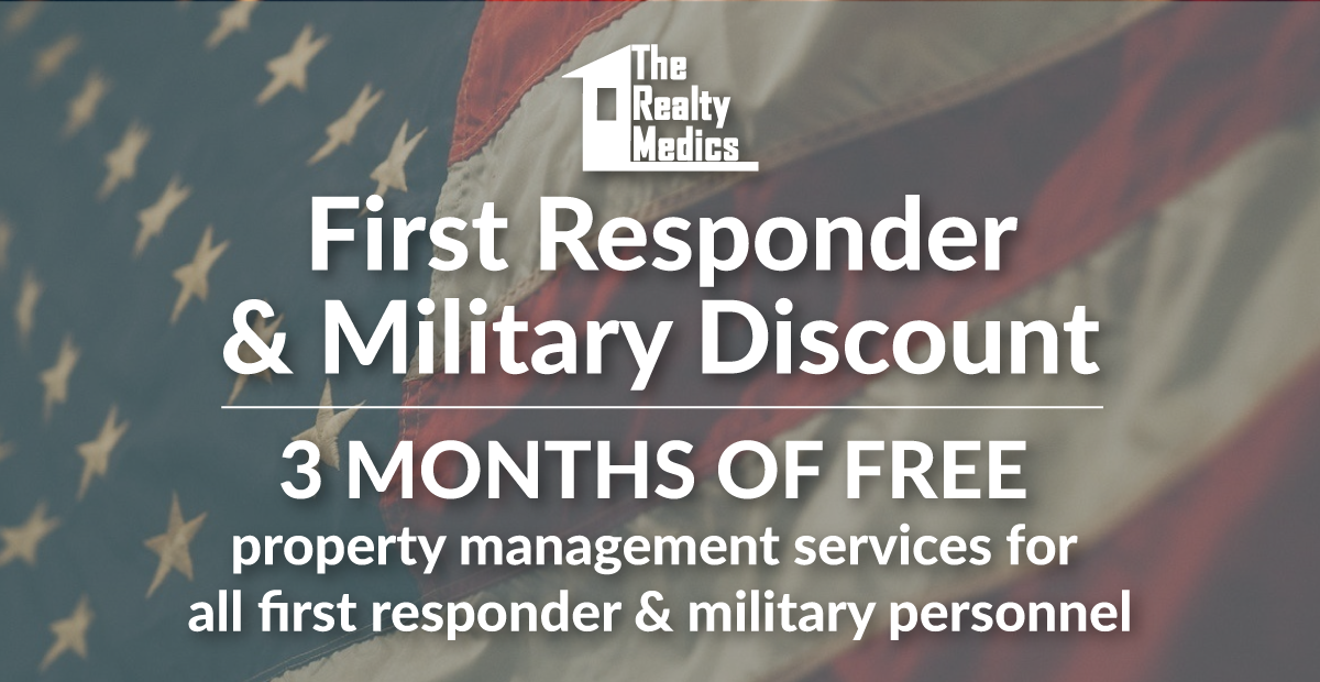 Orlando Property Management Military Discount-The Realty Medics