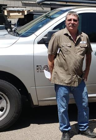 Tucson garage door repair expert John M