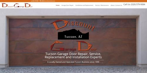 Discount Garage Doors Professional Garage Door Installation in Tucson