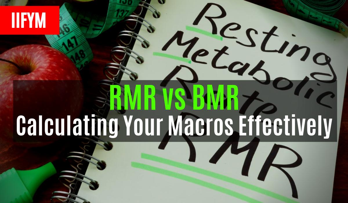 rmr vs bmr calculant leurs macros efficacement