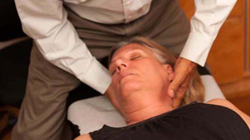 Upper Cervial Adjustment - Dr. Steven Schram