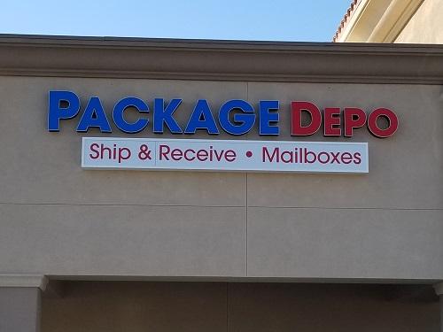 San Bernardino shipping store