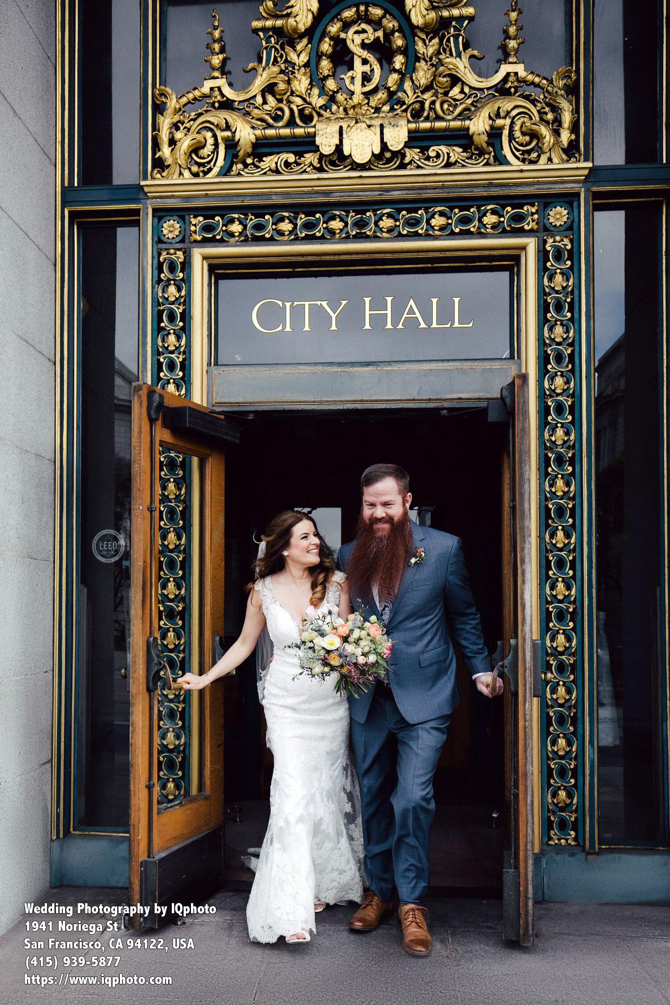 San Francisco City Hall Wedding Photography Videography