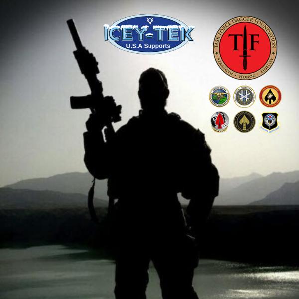 ICEY-TEK USA Supports Task Force Dagger Foundation