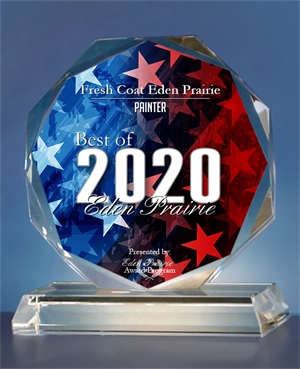 Fresh Coat Painters of Eden Prairie - Best Painter award 2020